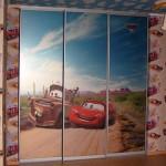 Шкаф-купе для детской комнаты.