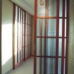 Офисные стеклянные раздвижные перегородки.
