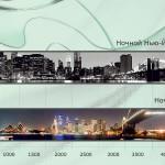 Город. Каталог график для стеклянного фартука.