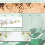 Каталог рисунков для кухонных фартуков из стекла.