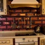 Кухонный фартук из фьюзинга.