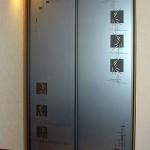 Декорированные двери для шкафа-купе.
