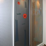 Декорированные стекла для дверей шкафа-купе.
