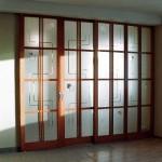 Система стеклянных перегородок.