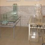 Лабораторное оборудование из стекла.