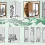 Каталог рисунков для дверей шкафа-купе.