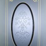 фото v01-014   Стекло для межкомнатной двери.