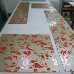 Декорированные плёнкой стёкла для мебели.
