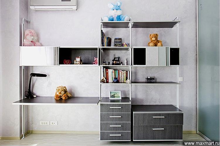 Корпусная мебель для детской комнаты.