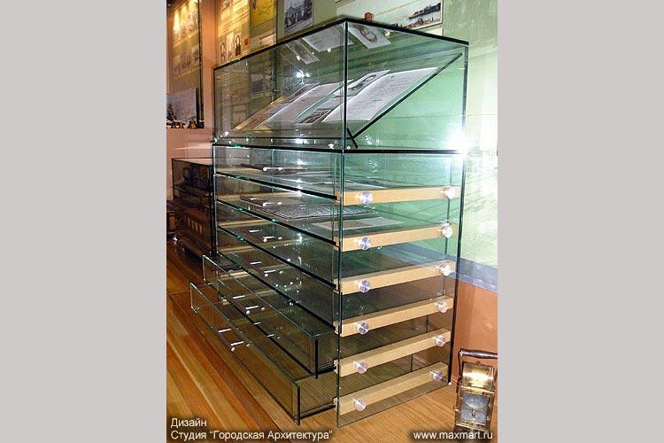 Шкаф для экспозиции.